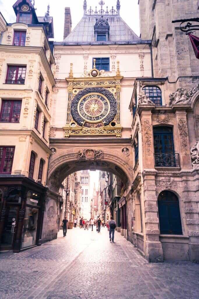 Le Gros Horloge, Rouen, Normandy, France
