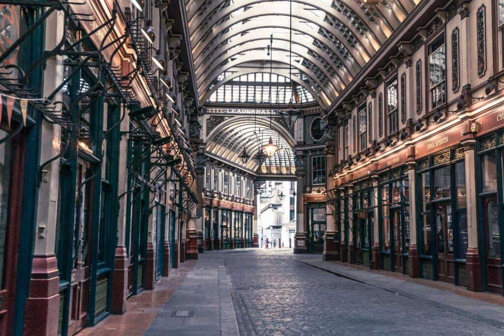 secret spots in London you'll love: Leadenhall Market