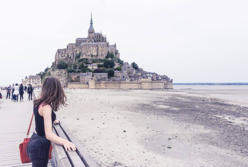 Most beautiful towns in Normandy, Northern France: Mont Saint Michel