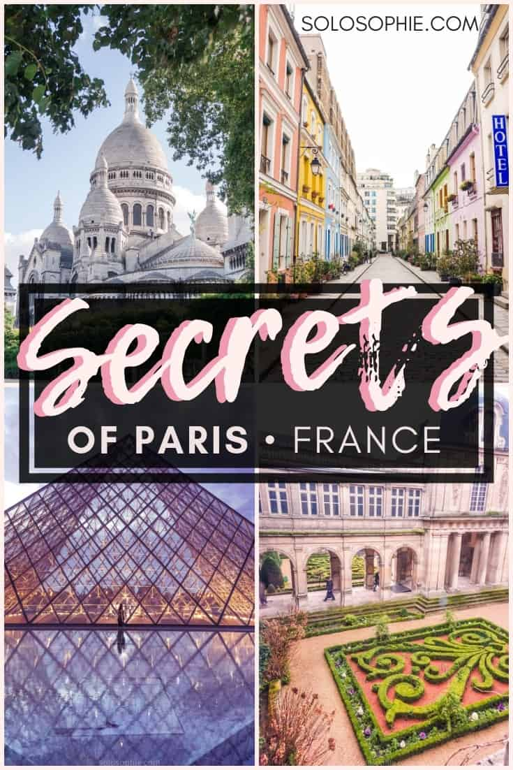 Secrets of Paris: Unique, Historical & Unusual Things to do in Paris, capital of France. Where you should stay, what you need to visit and best attractions in Paris!