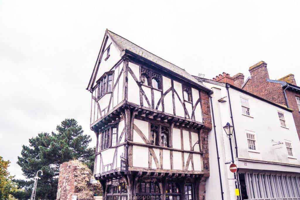 House that Moved, Exeter, Devon, England:
