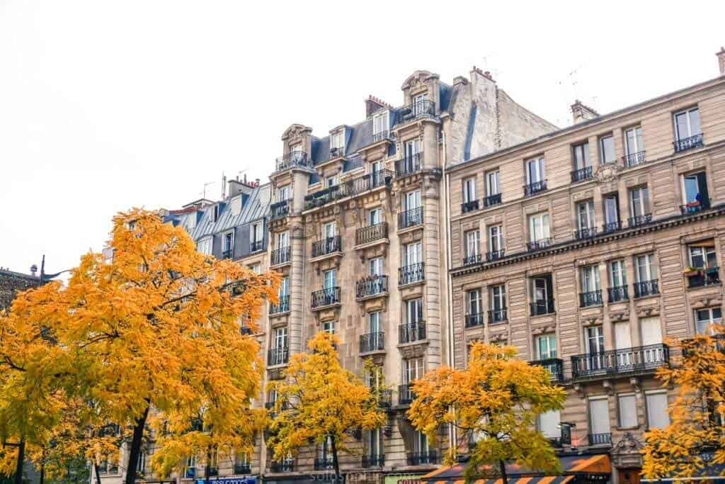 where to see the best fall foliage in paris, france: