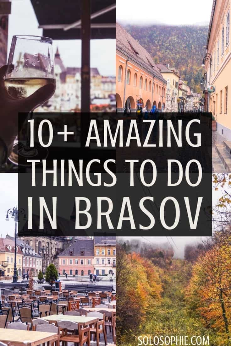 10+ amazing things to do in Brasov, Transylvania, Romania. Here's a guide for what to do in the beautiful secret city of Brasov, Eastern Europe