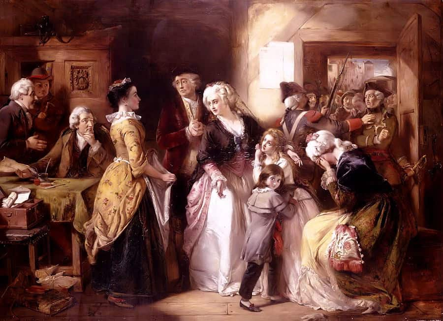 Flight to Varennes of Louis XVI during the French Revolution