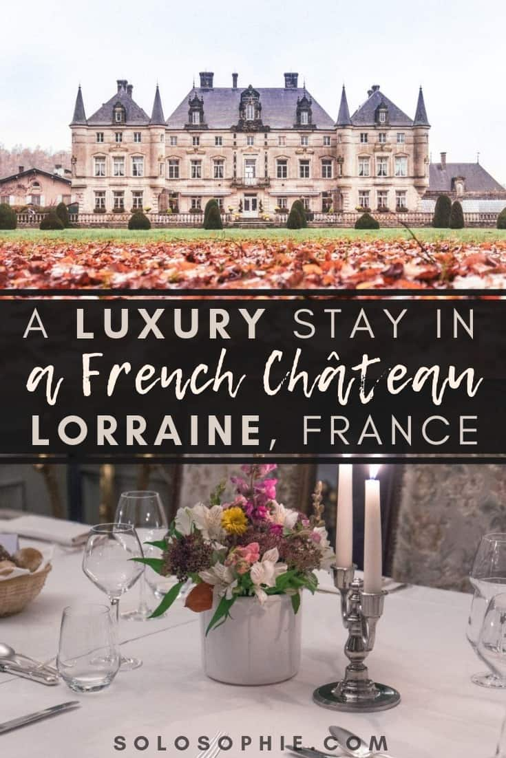 Chateau des Monthairons, staying in a luxurious French Chateau in Lorraine, Grand-Est, Northern France