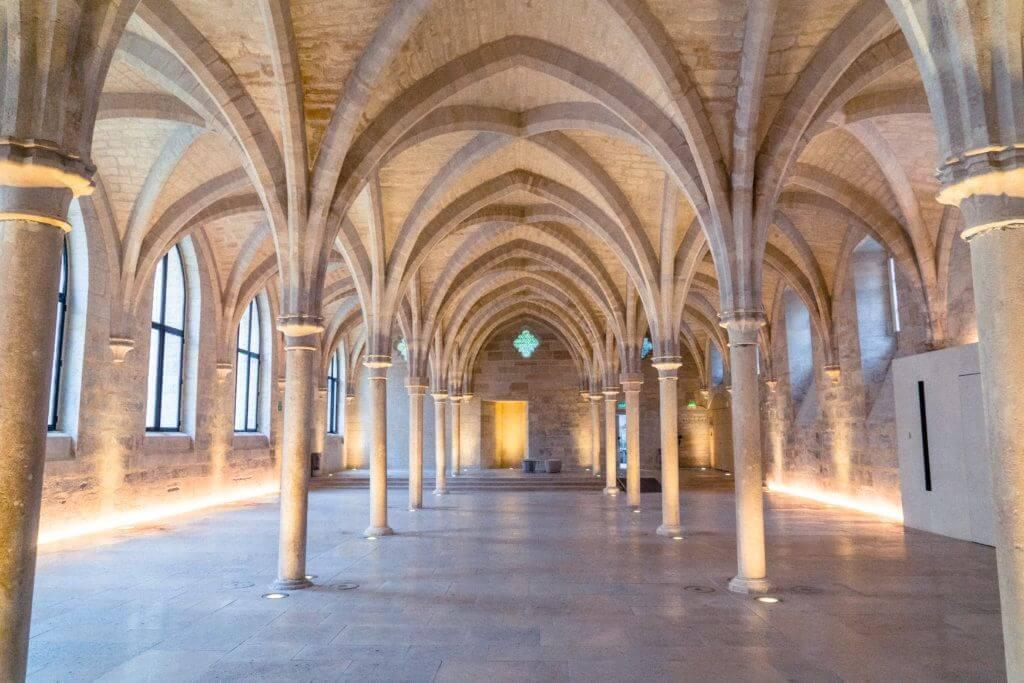 My Secret Paris locations: Collège des Bernardins: an ancient cistercian school in the heart of Paris, France!