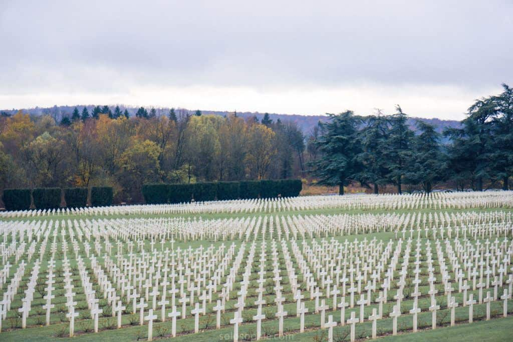 Douaumont Ossuary: burial of french soldiers