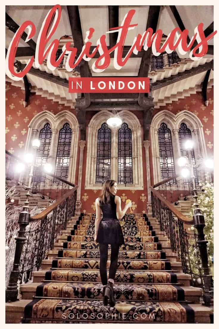 How to spend Christmas in London. Here's your festive guide to the UK capital of London, England. Christmas markets, shopfront decorations and a winter wonderland way to spend your holidays!