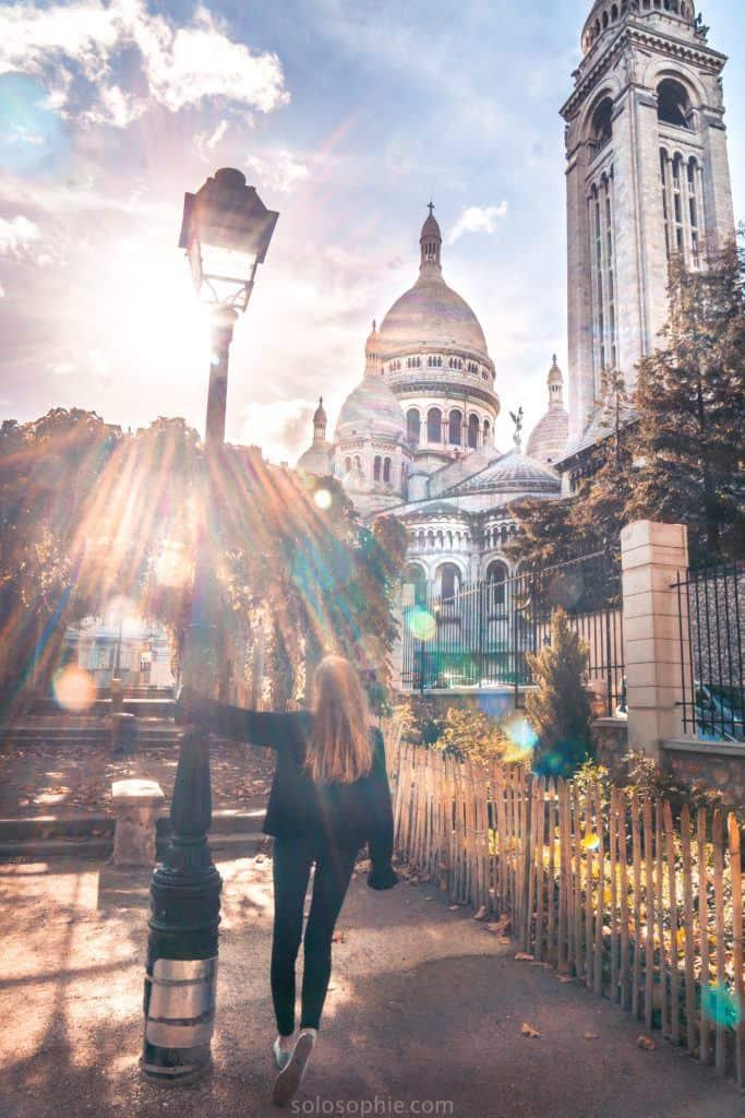 Square Marcel-Bleustein-Blanchet: my secret Paris locations: the best green space in Montmartre, Paris, France