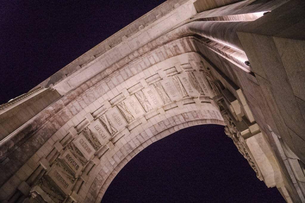 Arcul de Triumf, Bucharest, Romania