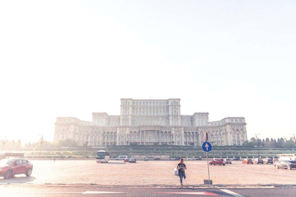 See Bucharest Parliament, the second largest building in the world