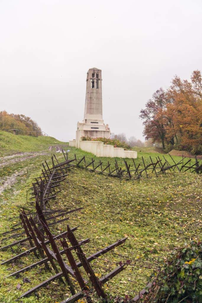 A visit to the German Trenches at Butte de Vauquois