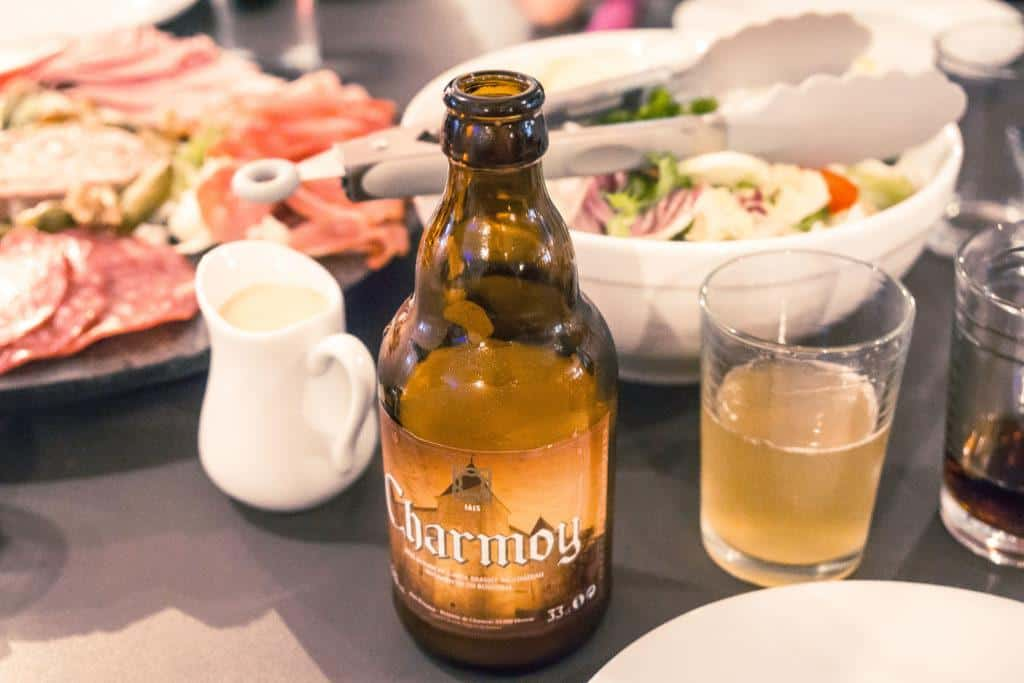 Must try foods in Lorraine, France: charmoy beer