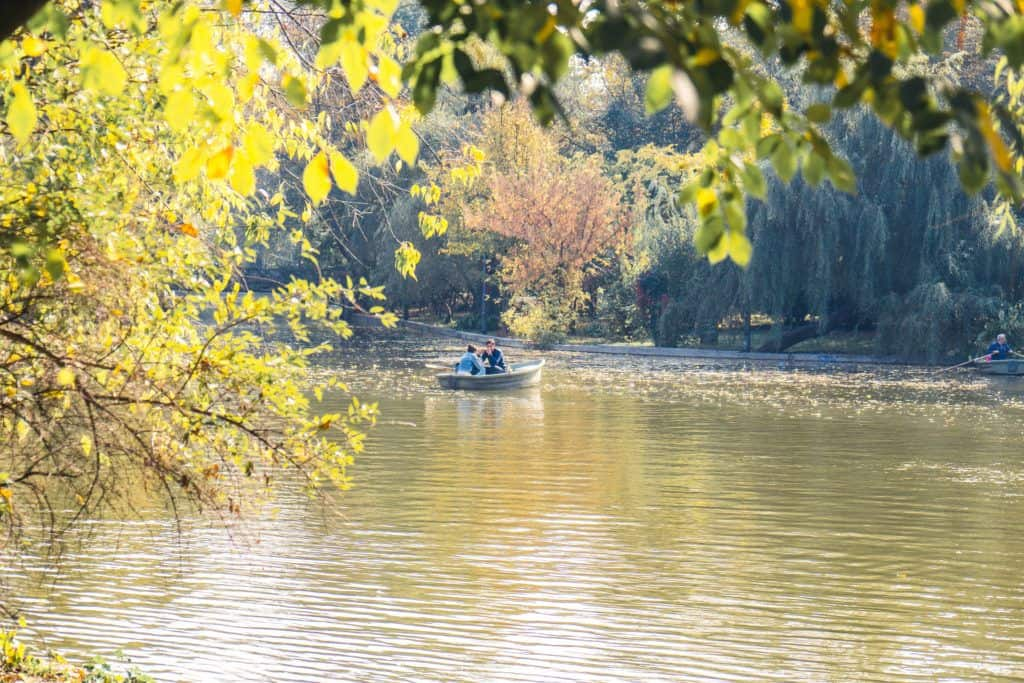 best things to do in bucharest, romania: cismigiu park