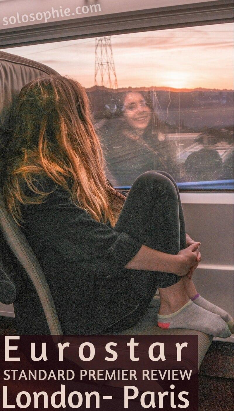 eurostar standard premier review: a trip between London and Paris by train!