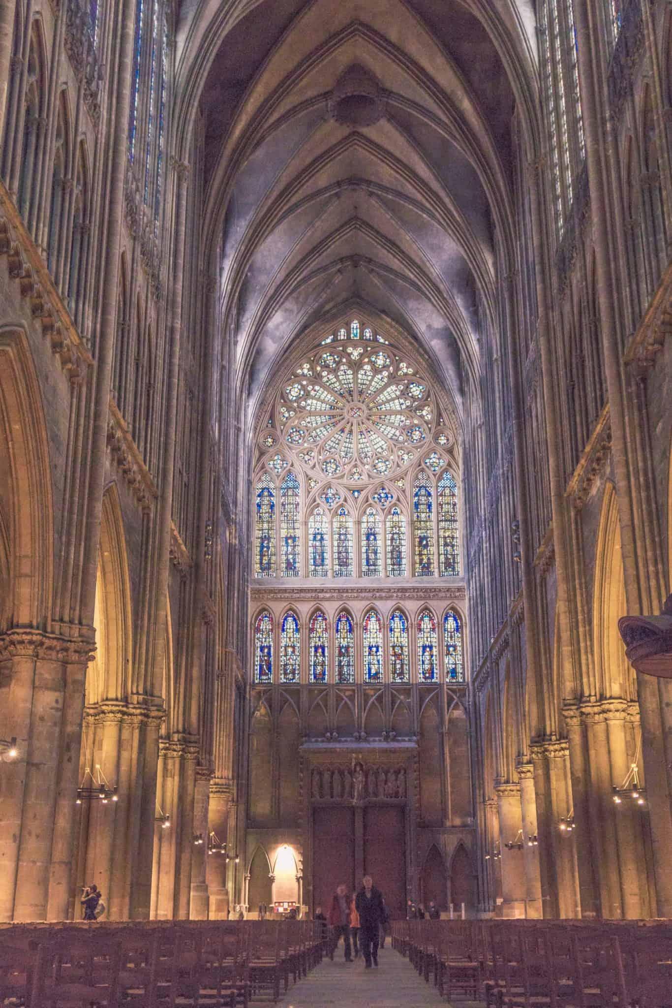 Metz Cathedral: three days in Lorraine, France