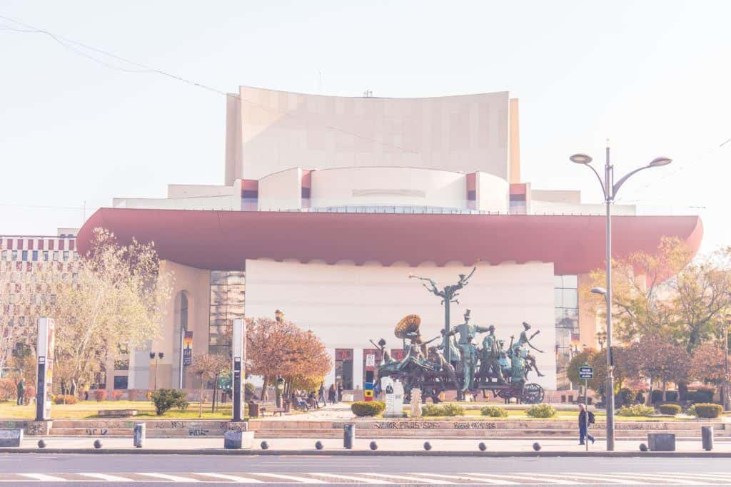 Best things to do in Bucharest: attend the national theatre