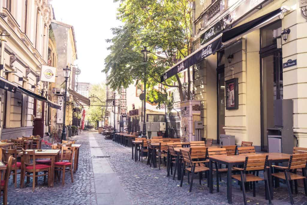 Best things to do in Bucharest, Romania: walk around the old town