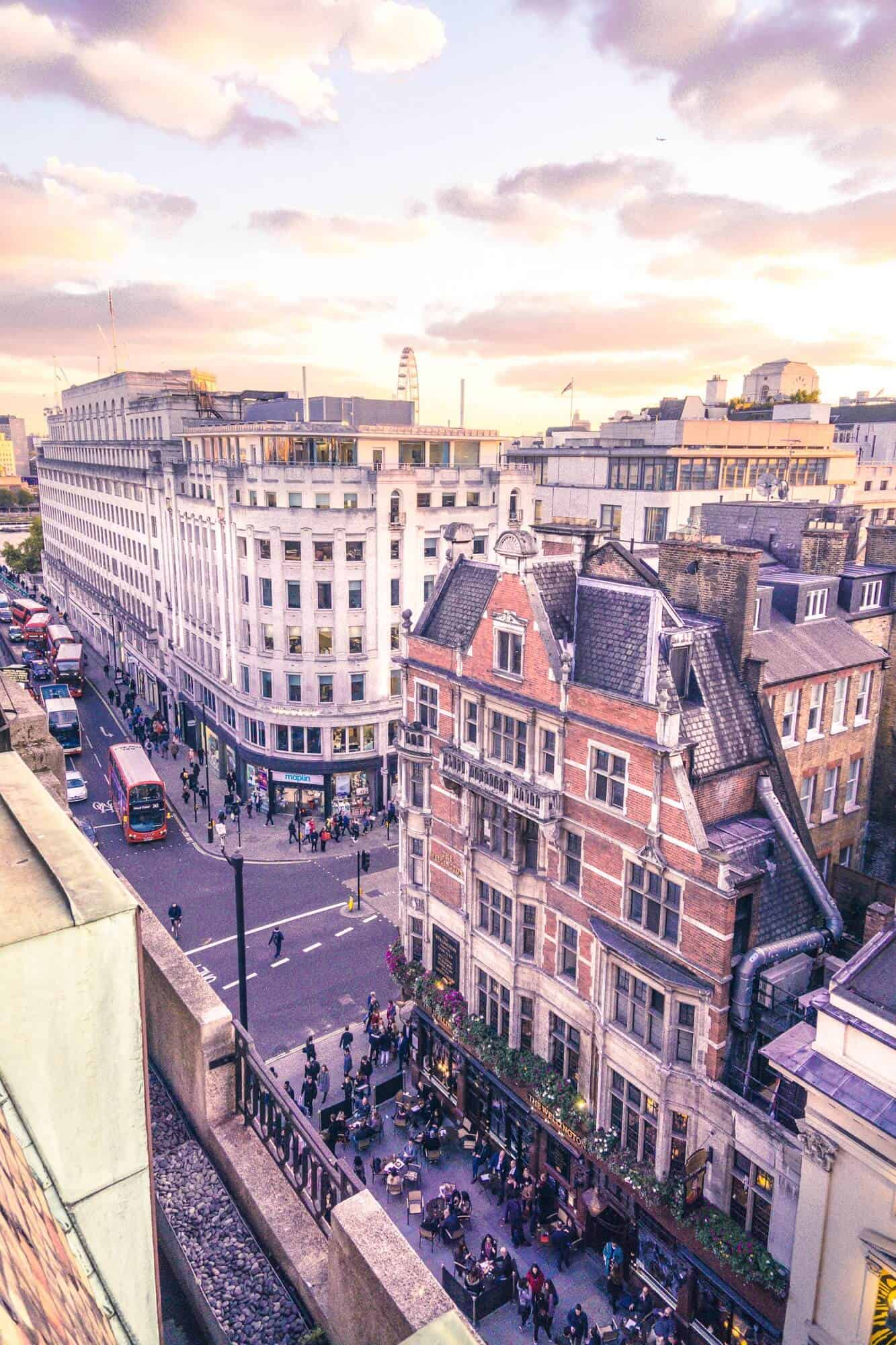 A luxury stay at One Aldwych: five-star hotel in central London, near Covent Garden, England: view