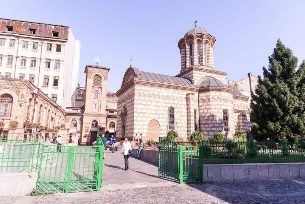 Best things to do in Bucharest: Saint Anthony Church