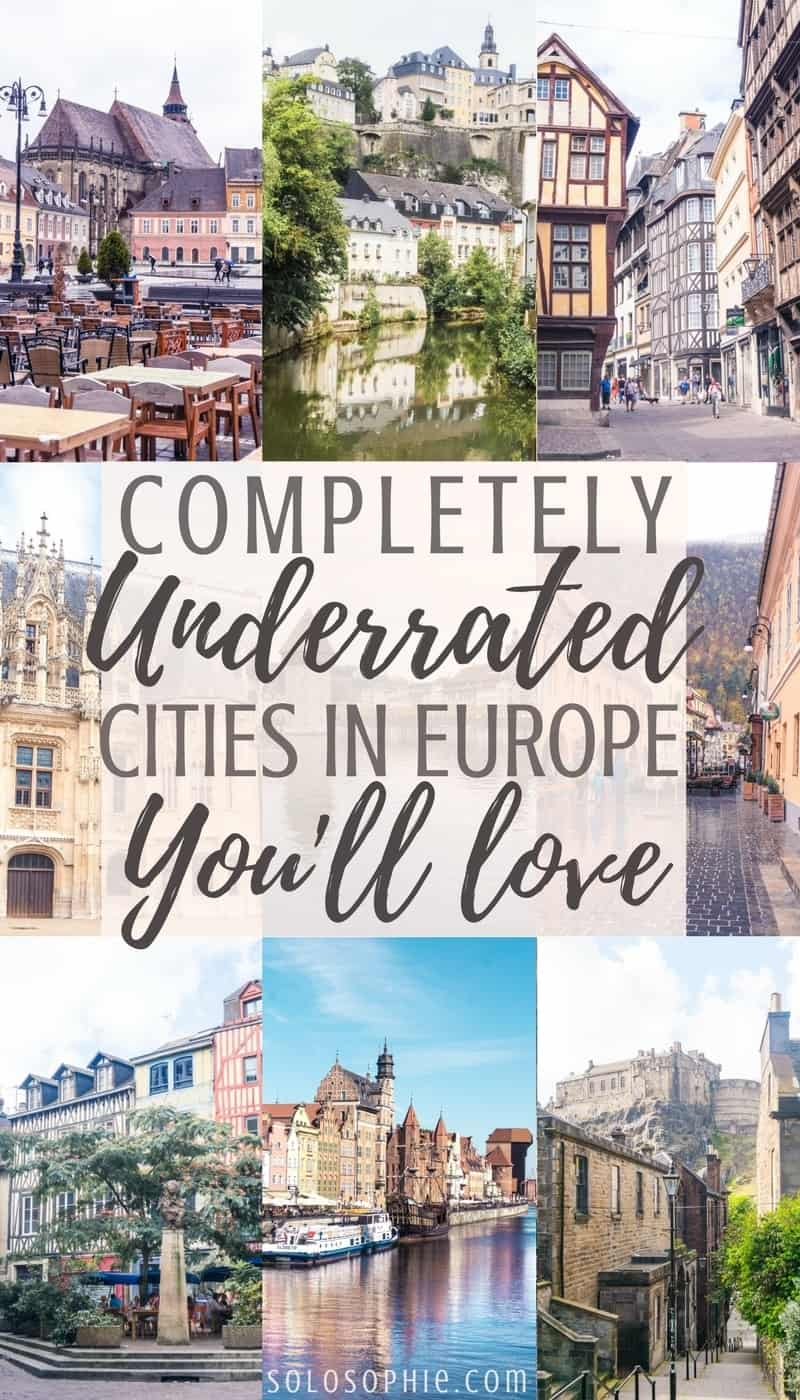 10 complete unique, beautiful and often underrated cities in Europe you'll fall in love with! (and want to visit again and again)