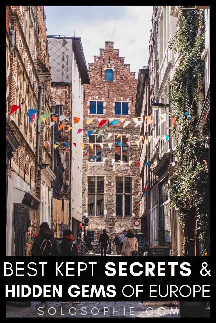 Looking for the best of offbeat, unusual, and secret Europe? Here's your complete and ultimate guide to the best underrated cities in Europe, including hidden European destinations in Belgium, France, Italy, Luxembourg and more!