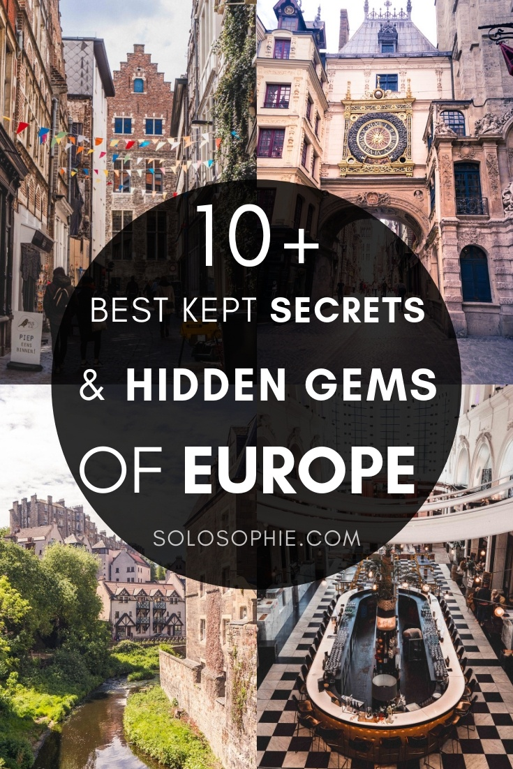 Searching for hidden gems in Europe that are offbeat, quirky, and fun? Here's your guide to the best overlooked and underrated cities in Europe that you need to visit before everyone else hears about them!