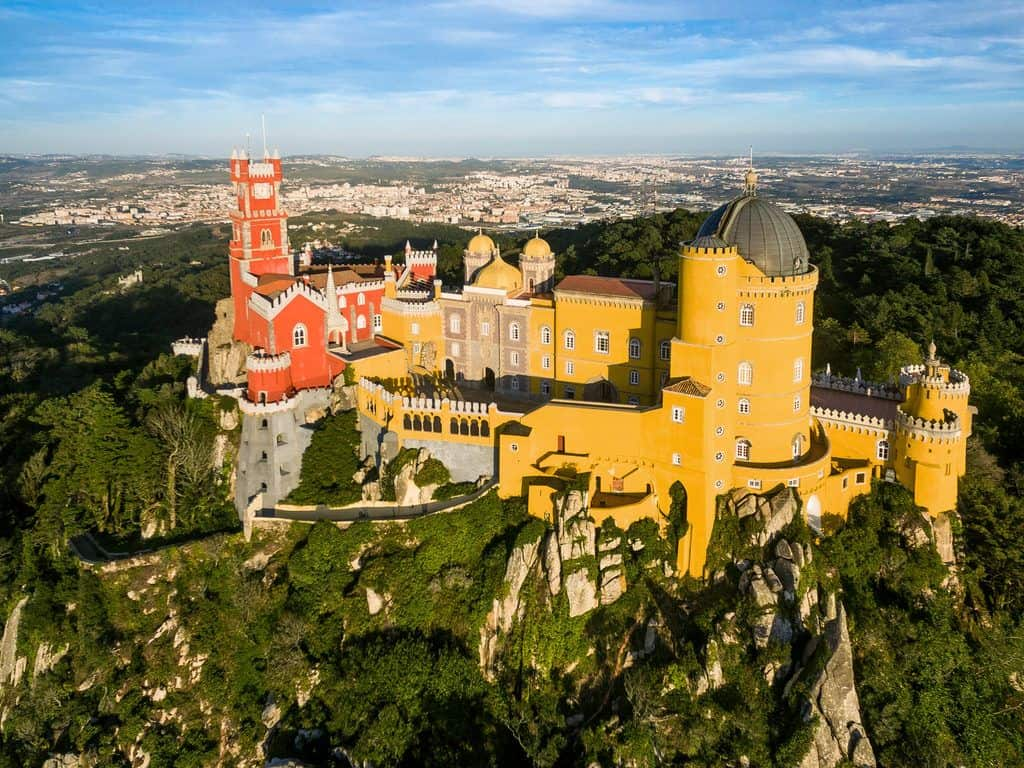 Palace of Pena, Portugal, Europe