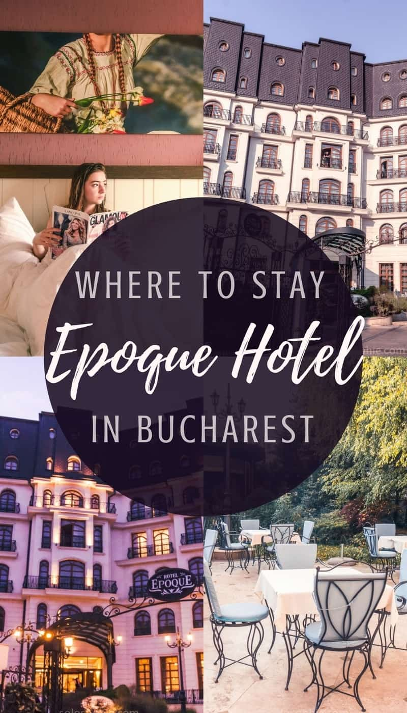 Where to stay in Bucharest, Romania: Hotel Epoque Review, a 5-star luxury retreat in the heart of the city. Here's what it's like to stay in the Epoque Hotel!