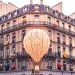 Christian Dior Balloon in Paris, France: pretty and sparkling in the city