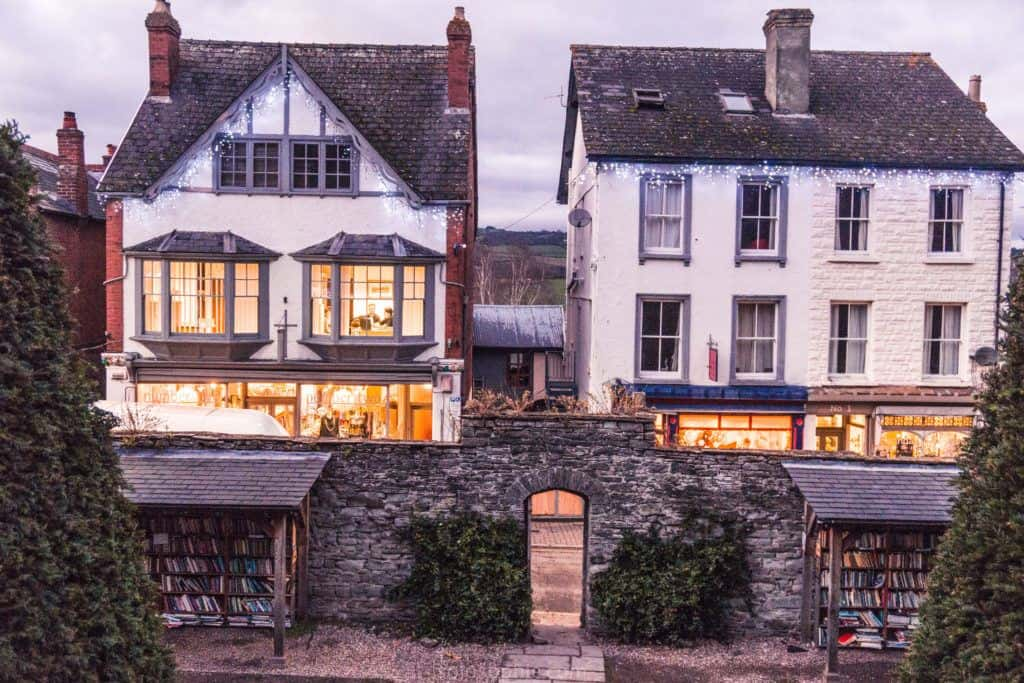 How to spend three days in England and Wales: a 72 hour road trip around gems of South West England and Southern Wales: Brecon Beacons, Wells, Tretower, Castles, Hay-on-Wye etc.: Hay-on-Wye