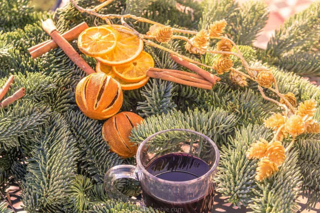 A taste of Europe: Christmas market mulled wine recipe and a history of Glühwein as well as the origins of mulled wine!