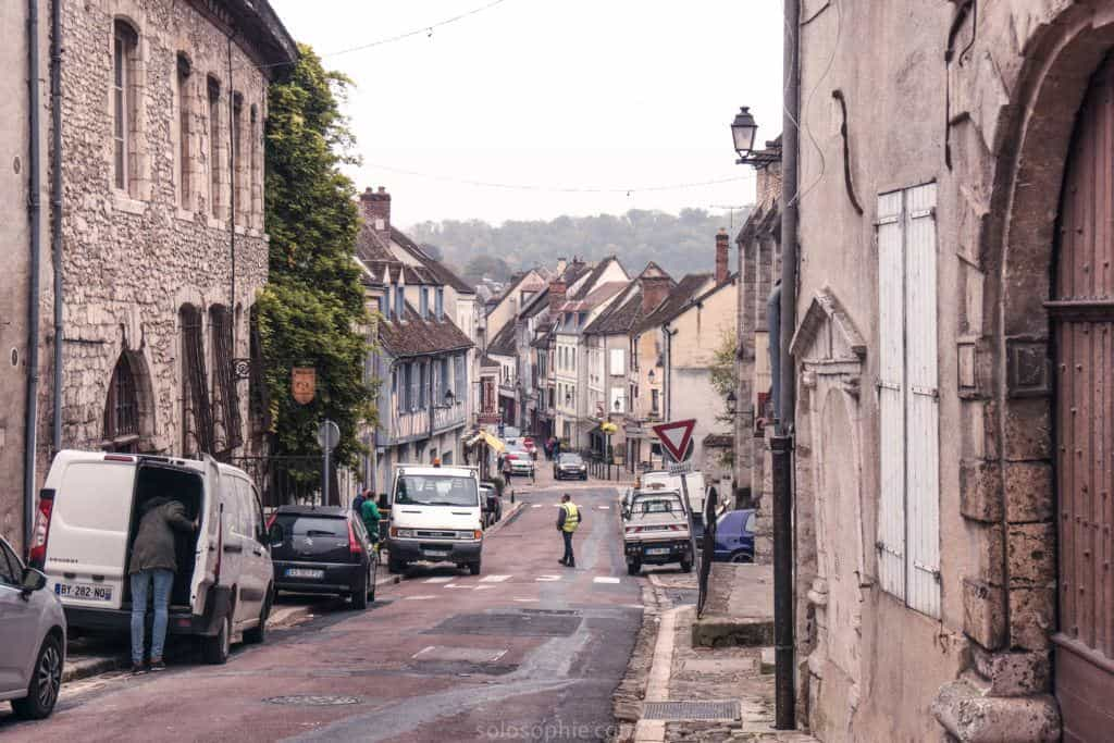 Medieval town of Provins, home to the historic 'Champagne Fairs' of the middle ages. Provins, 1.5 hours from paris, France