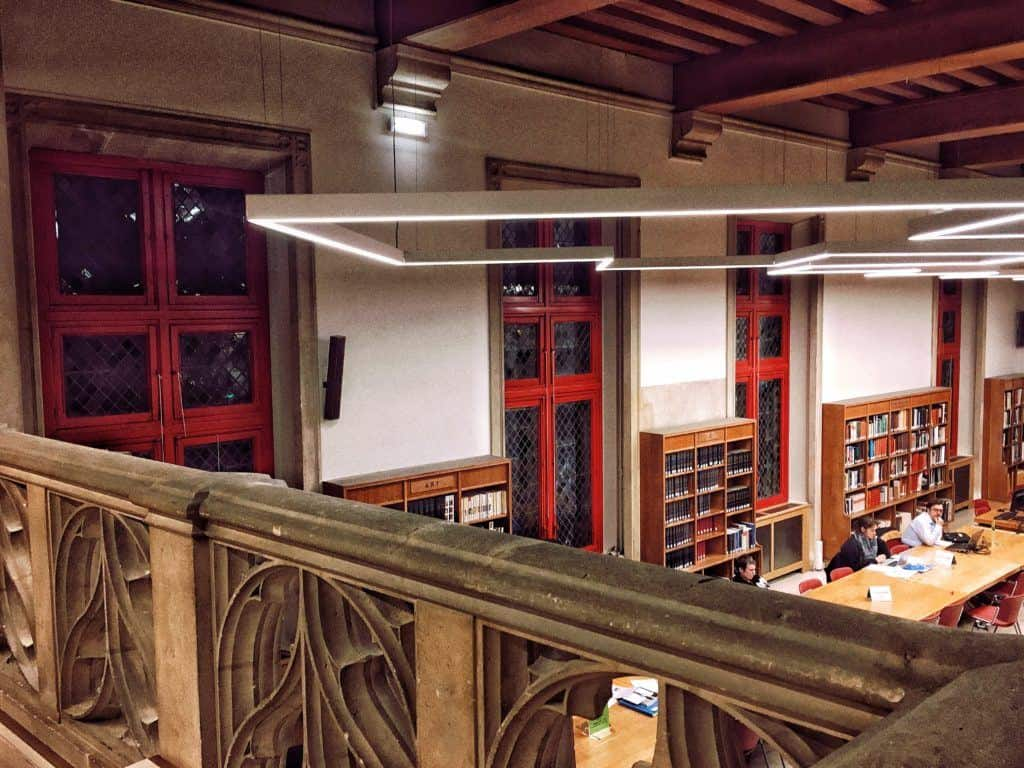 Bibliothèque Forney: Studying in a Medieval Library in the Middle of Le Marais: balcony