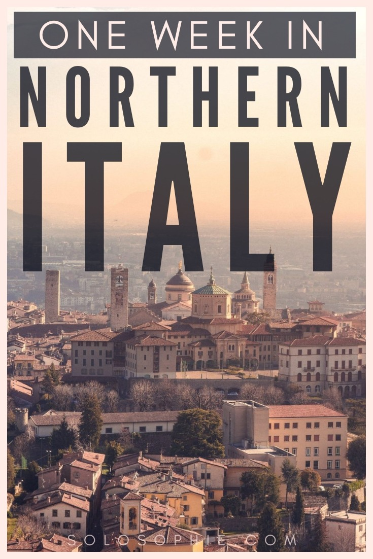 Here's how to spend one week in the North of Italy. How to spend the perfect seven days in Lombardy and Piedmont in Italy. Where to stay, what to eat, what you must visit and the best places to see!