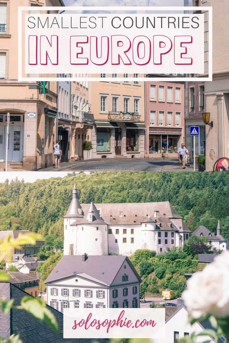 In search of the smallest country in Europe: top 8 tiniest countries in Europe revealed; Luxembourg, Vatican City etc.