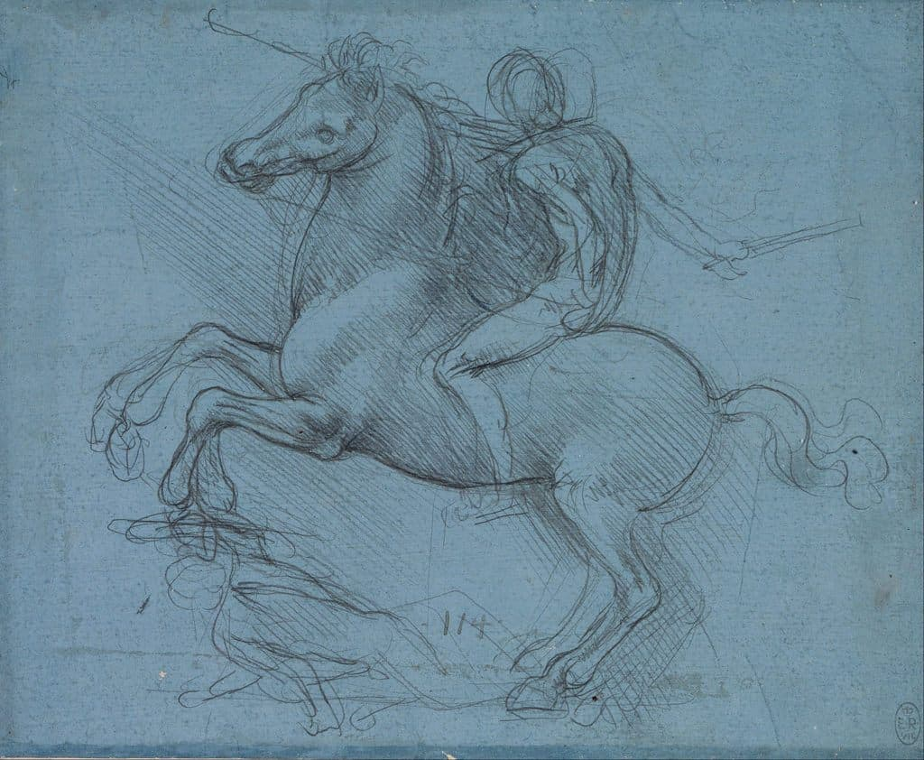 Il Cavallo Dello Sforza Statue