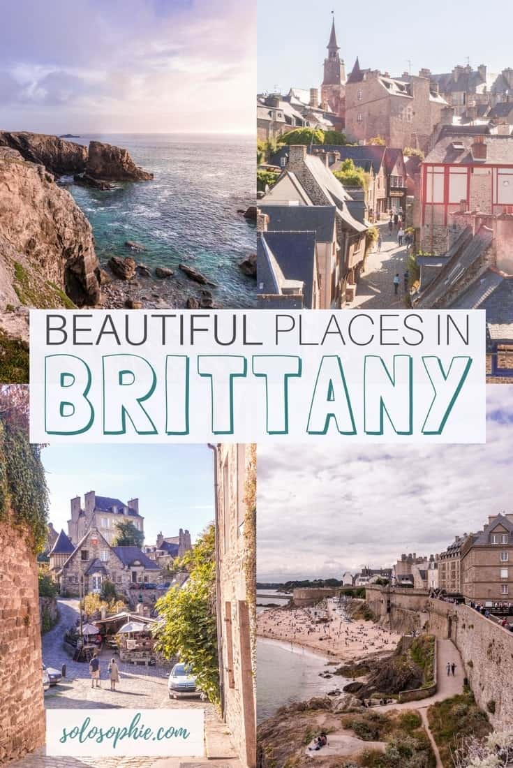Most beautiful places in Brittany_ Brittany Attractions and must see places and things to do to add to your European bucket list. Best things to do in Brittany, France!