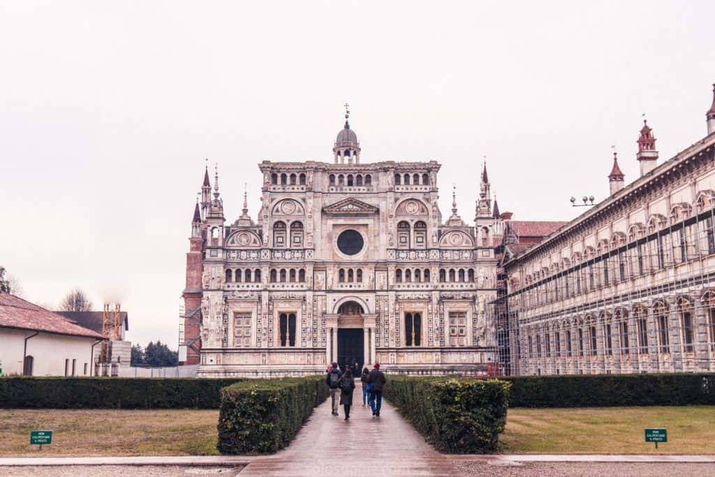 Certosa di Pavia Monastery and Church, Lombary, Italy: Is this the most beautiful monastery in Europe, and a look at amazing Italian Renaissance architecture.