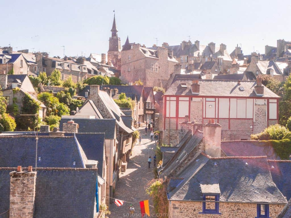 Most beautiful places in Brittany: Brittany Attractions and must see places and things to do to add to your European bucket list. Best things to do in Brittany, France!: dinan tourism