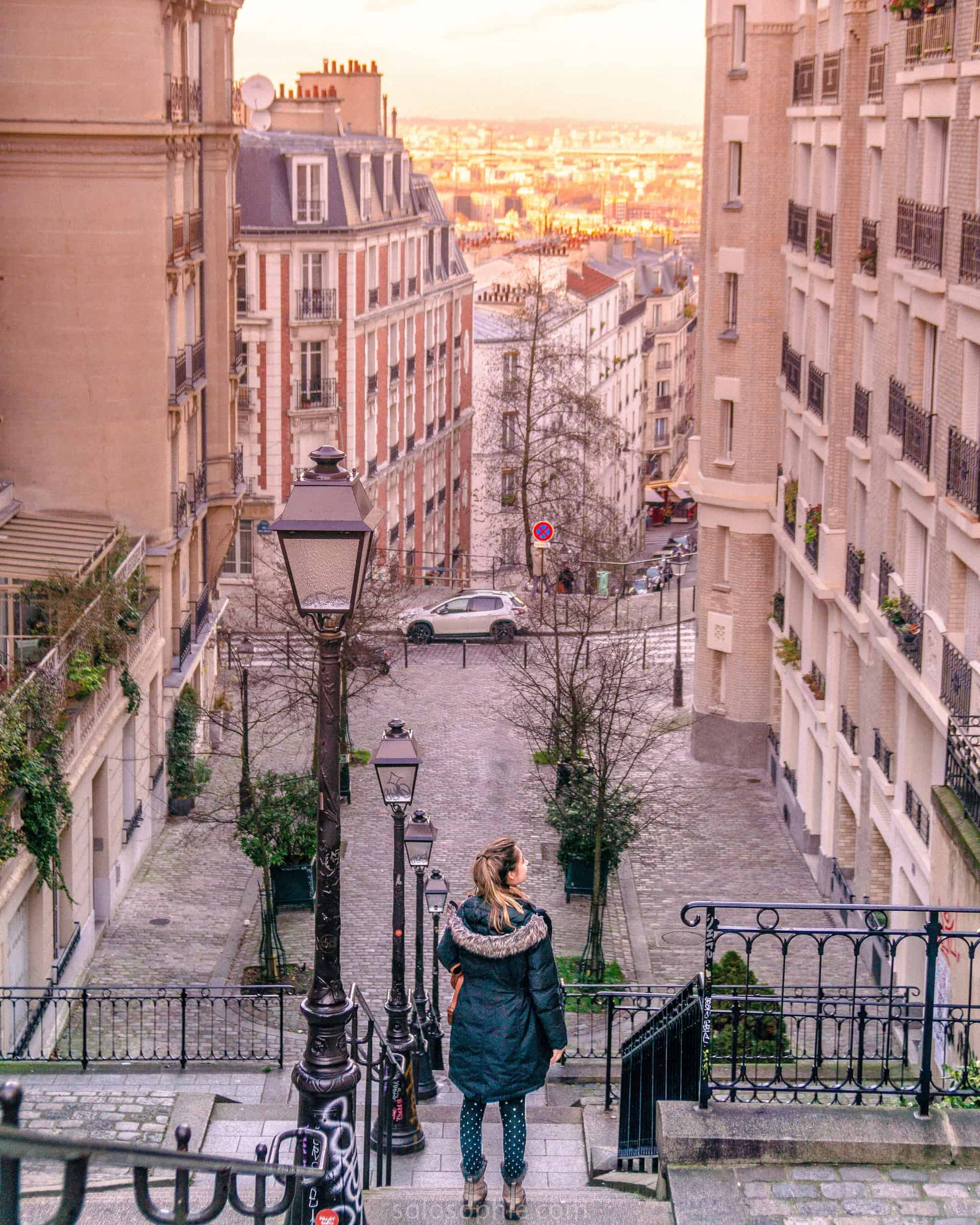 In search of hidden châteaux in Montmartre: Château des Lys