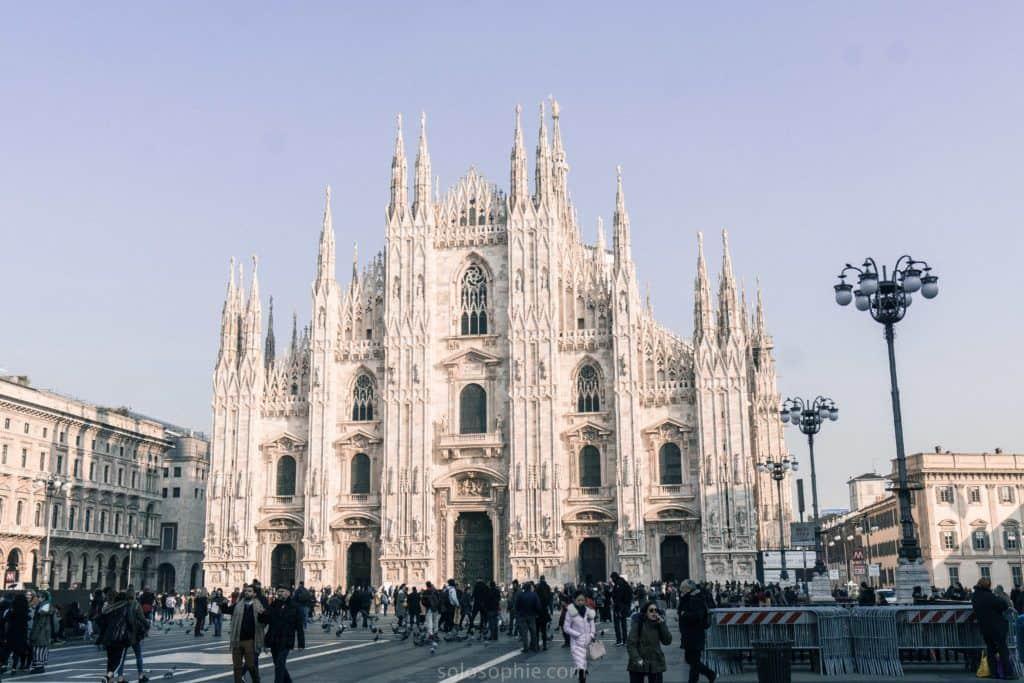 Best things to do in Milan, Italy: Duomo di Milano