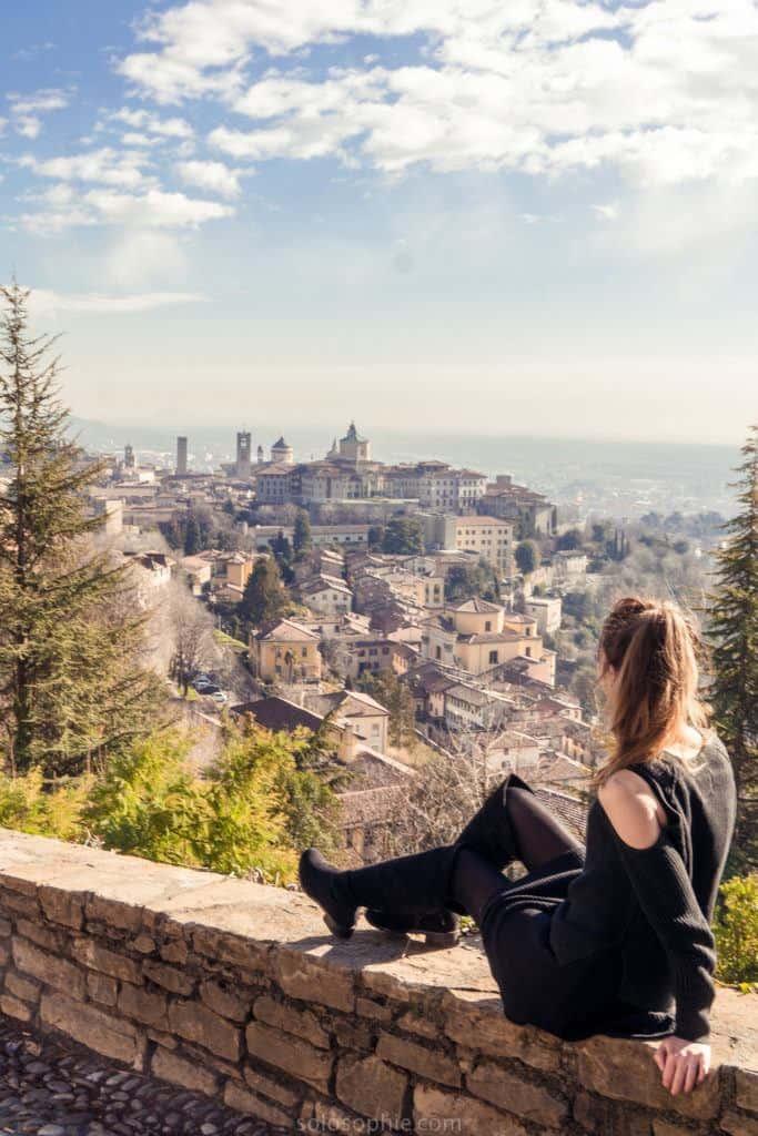 Bergamo city, Lombardy, Italy