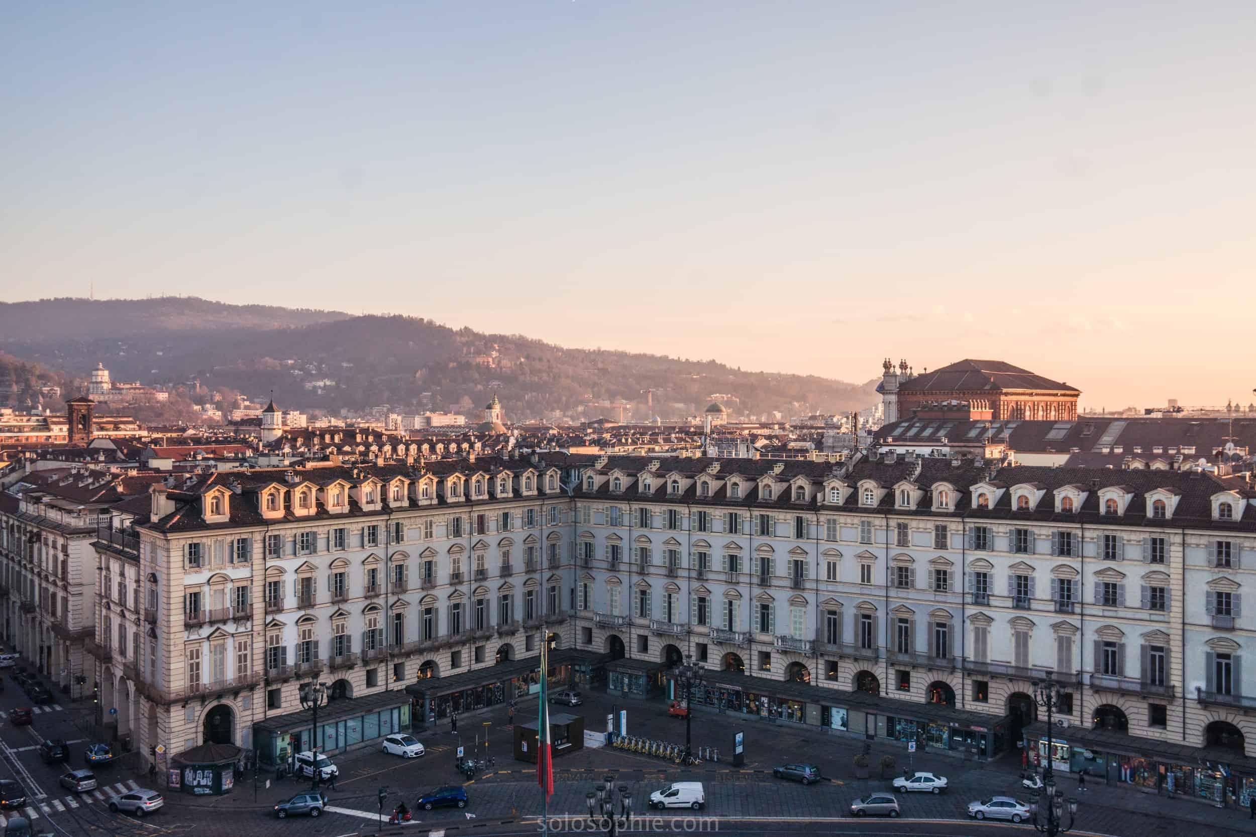 Best views of Turin, Piedmont, Italy: Palazzo Madama