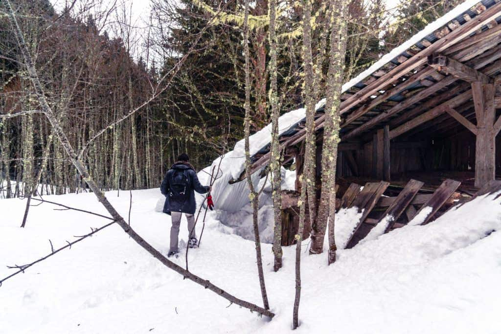 Snowshoeing in the French alps: a snow sports adventure in France, Europe