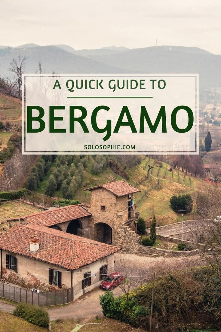 Bergamo City Travel Guide: Hidden gem of Lombardy, Northern Italy. Here's how to spend one day in Bergamo, the very best things to do!