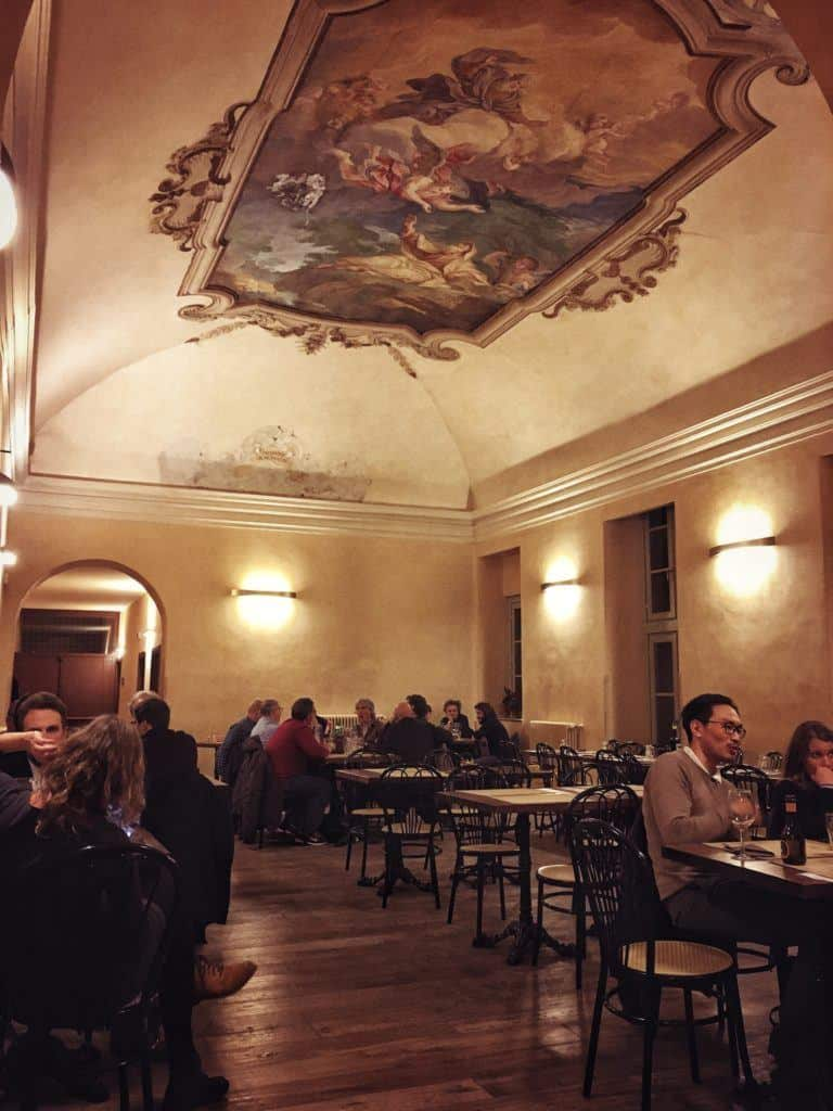 Il Circolino: Dining in an Old Prison in the Heart of Bergamo, Italy: dining room