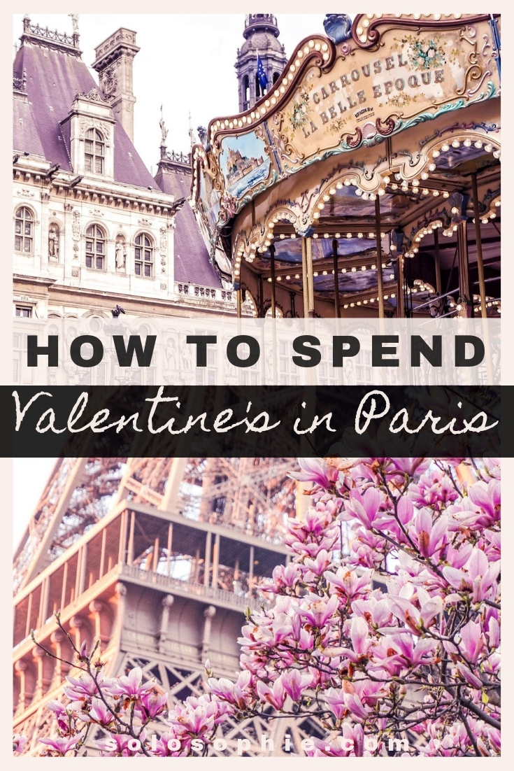 How to spend Valentine's day in Paris. Your complete guide for romantic dates and things to do in the City of Love on the 14th of February in France (river cruise, chocolate making workshops and more!)