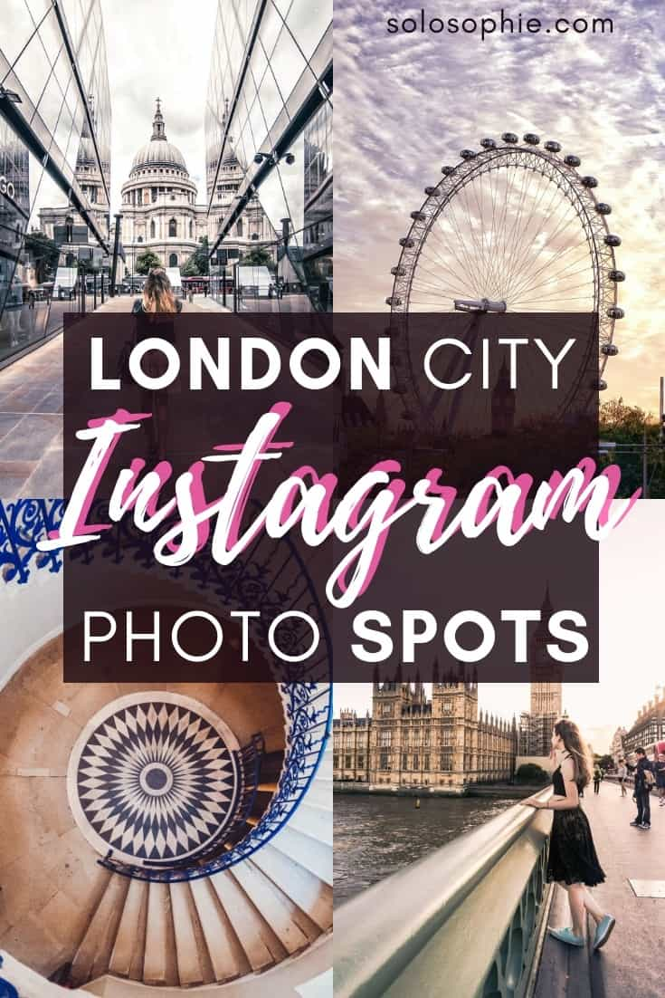 Instagrammable guide to London. Here's your complete manual to the best Instagram locations and photo destinations in the UK capital of London, England