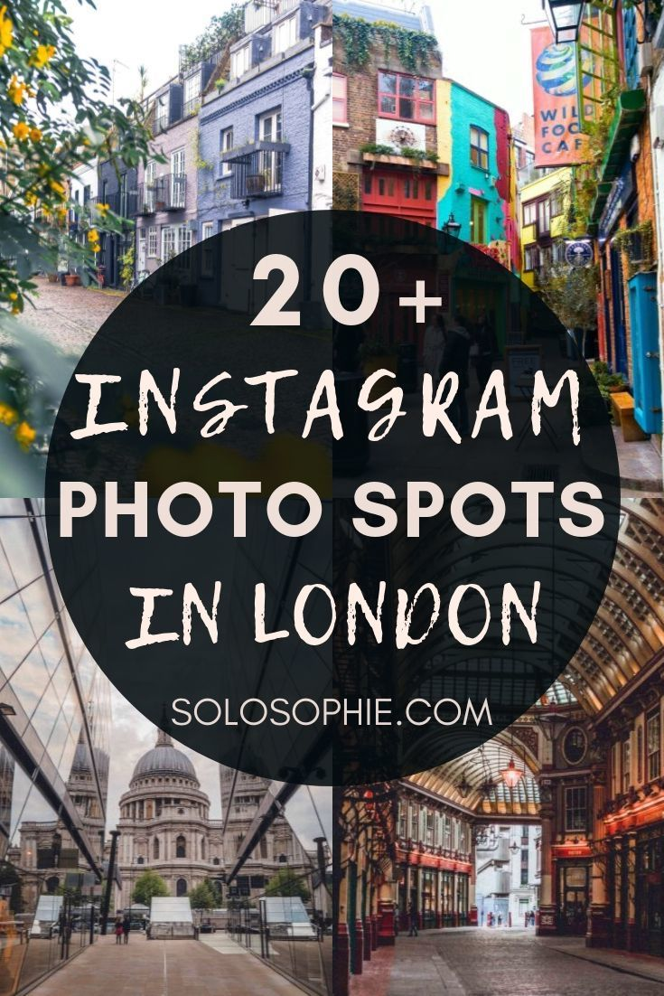 Looking for the best of London? Here's your ultimate guide to Instagram London; photo spots, Instagrammable destinations, and pretty as a postcard secret London destinations you must visit!